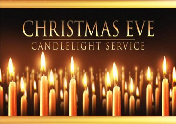 Christmas Eve candle service